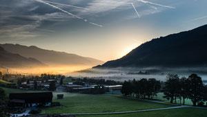Bramberg am frühen Morgen