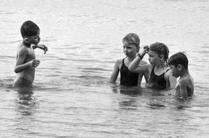 Der Schwimmlehrer (Kambodscha)