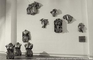 angele della mia storia, installazione, foto: Giovanni Molino