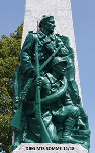 LE CROTOY - Monument repeint