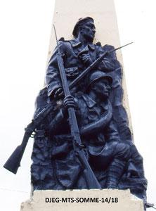 LE CROTOY - Monument à l'origine