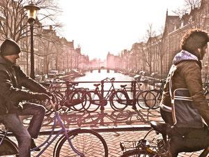 Impressionen Sehenswürdigkeiten Amsterdam Holland