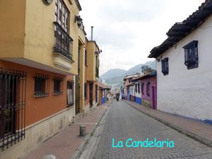 Bild: Der Stadtteil La Candelaria in Bogota - Foto 1