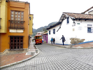 Bild: Der Stadtteil La Candelaria in Bogota - Foto 5