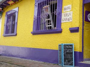 Bild: Der Stadtteil La Candelaria in Bogota - Foto 2