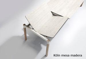 Koln mesa mobliberica fija o extensible