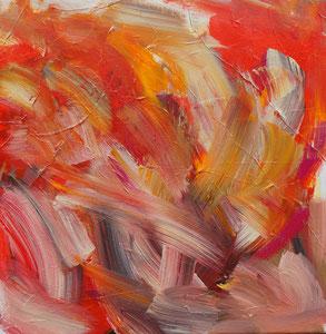 Ohne Titel, 50 x 50 cm, Acryl auf Leinwand