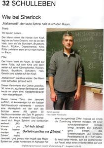 Ein kleiner Bericht der Schülerzeitung des #Engelsburggymnasium #Kassel