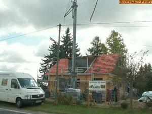 Blockhaus als Wohnhaus bauen - Bauunternehmen - Blockhausbauer - Blockhausbau