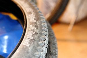 Vor dem Reifenwechsel: Der Fat Albert mit ordentlich Stollen.