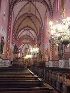 Innenraum der Klosterkirche, 2014.