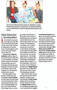 Bericht in der NÖN Waidhofen an der Thaya (Woche 37) Copyright by Rene Denk