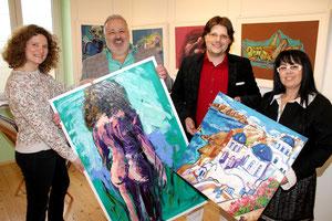 Finissage Matthias Laurenz Gräff und Helmuth Gräff, Pressefoto Martin Kalchhauser, NÖN Horn
