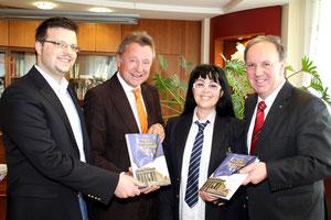 Personen von links nach rechts: Matthias Laurenz Gräff, Martin Falk, Georgia Kazantzidu und Johannes Kranner. Copyright by Martin Kalchhauser (NÖN Horn)