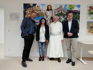 Werner Groiß, Georgia Kazantzidu, Kräuterpfarrer Benedikt, Matthias Laurenz Gräff