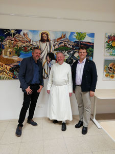 Werner Groiß, Kräuterpfarrer Benedikt, Matthias Laurenz Gräff