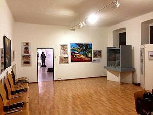 Matthias Laurenz Gräff, Garser Wein, Pathos, Zeitbrückemuseum Gars am Kamp
