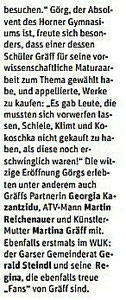 Pressebericht in der NÖN, Horn (Woche 21), C by Martin Kalchhauser