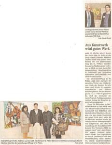 Matthias Laurenz Gräff. Pressebericht ΝÖN, Bezirk Horn (Woche 45), Copyright by Martin Kalchhauser