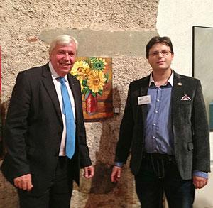 Mag. Matthias Laurenz Gräff mit Mag. Johannes Heuras, 2. Landtagspräsident des niederösterreichischen Landtages