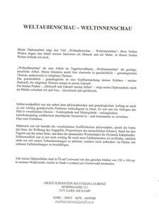 Diplomtitel Matthias Laurenz Gräff