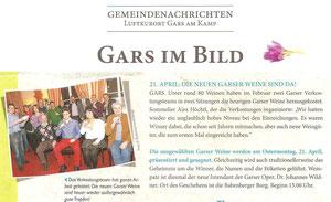 Garser Gemeindenachrichten, Folge 1, Frühjahr 2014