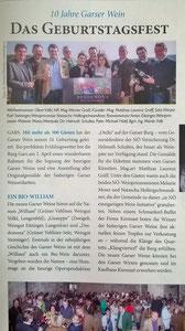 Garser Gemeindenachrichten, Titelseite (Nummer 3, April 2016)