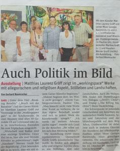 Pressebericht in den Niederösterreichischen Nachrichten, Bezirk Horn (Woche 35)