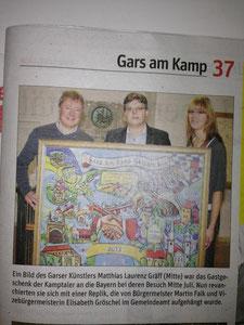 Matthias Laurenz Gräff. Pressebericht ΝÖN, Bezirk Horn (Woche 42), Copyright by Martin Kalchhauser