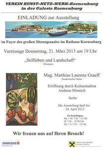 Einladung zur Vernissage Matthias Laurenz Gräff
