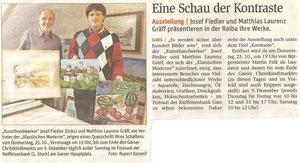 Bericht in der NÖN Horn (Woche 43) Copyright by Rupert Kornell