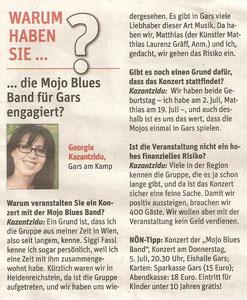 Vorbericht in der NÖN Horn (Woche 25) Copyright by Martin Kalchhauser