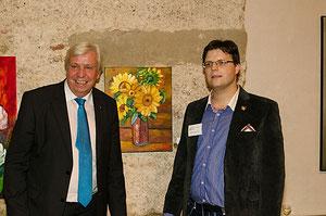 Matthias Laurenz Gräff mit Johannes Heuras