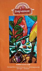 Schokolade mit meinem Gemälde