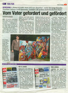 NÖN-Artikel (Juli 2008) Pressebericht über das Diplom von Matthias Laurenz Gräff