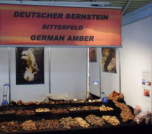 Der Stand `German Amber`auf der Munich Show.