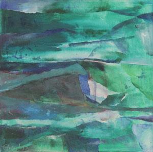Felder und Wiesen (60x60) - 2013     (in Privatbesitz)