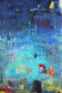 Die Nacht kommt blau (80x120) - 2013      (in Privatbesitz)