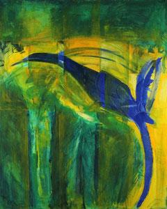 Dschungel (80x100) - 2010