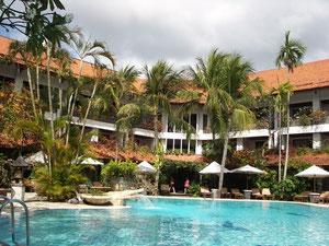 サンティカビーチ・ホテルのプール