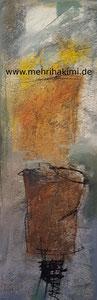 Abstrakt (Leinwand 40x120)