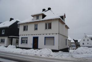Mein Haus im Schnee