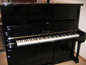 Klaviergehäuse mit neuem Polyesterlack