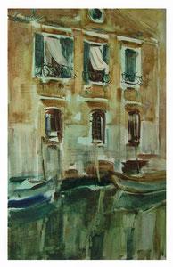 Venezianisches Motiv   /   Venetian motive    48x30cm   2013