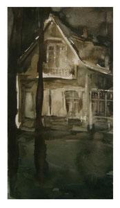 Evening  / Abend  33x18,5  2006