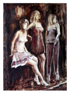 Three Graces / Drei Grazien   70x50cm   2010