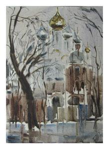 Monastery / Kloster     36x48cm  2014