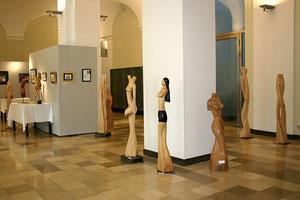 rathaus-foyer, heidelberg, einzelausstellung