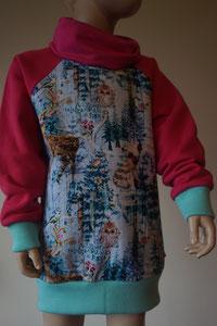 Voor: Sweater hert, maat 122/128