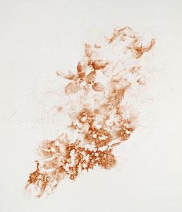 Kristin Finsterbusch, Verwandlung, Tiefdruck, vernis mou, 2016, 30 x 30 cm